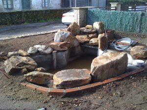 building my garden