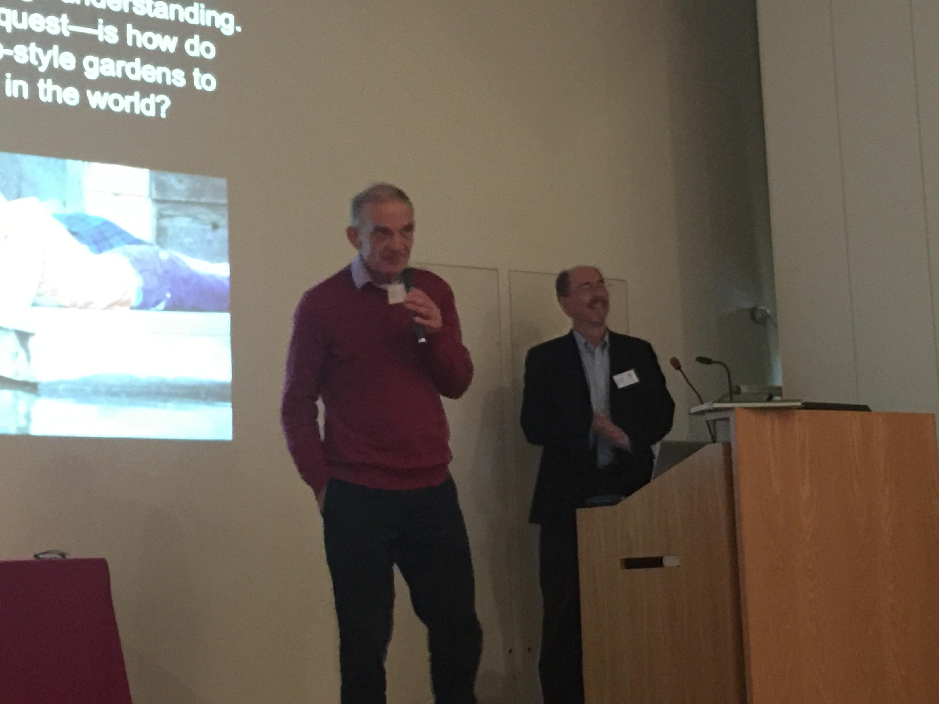 Prof. Kendall Brown and Robert Ketchall